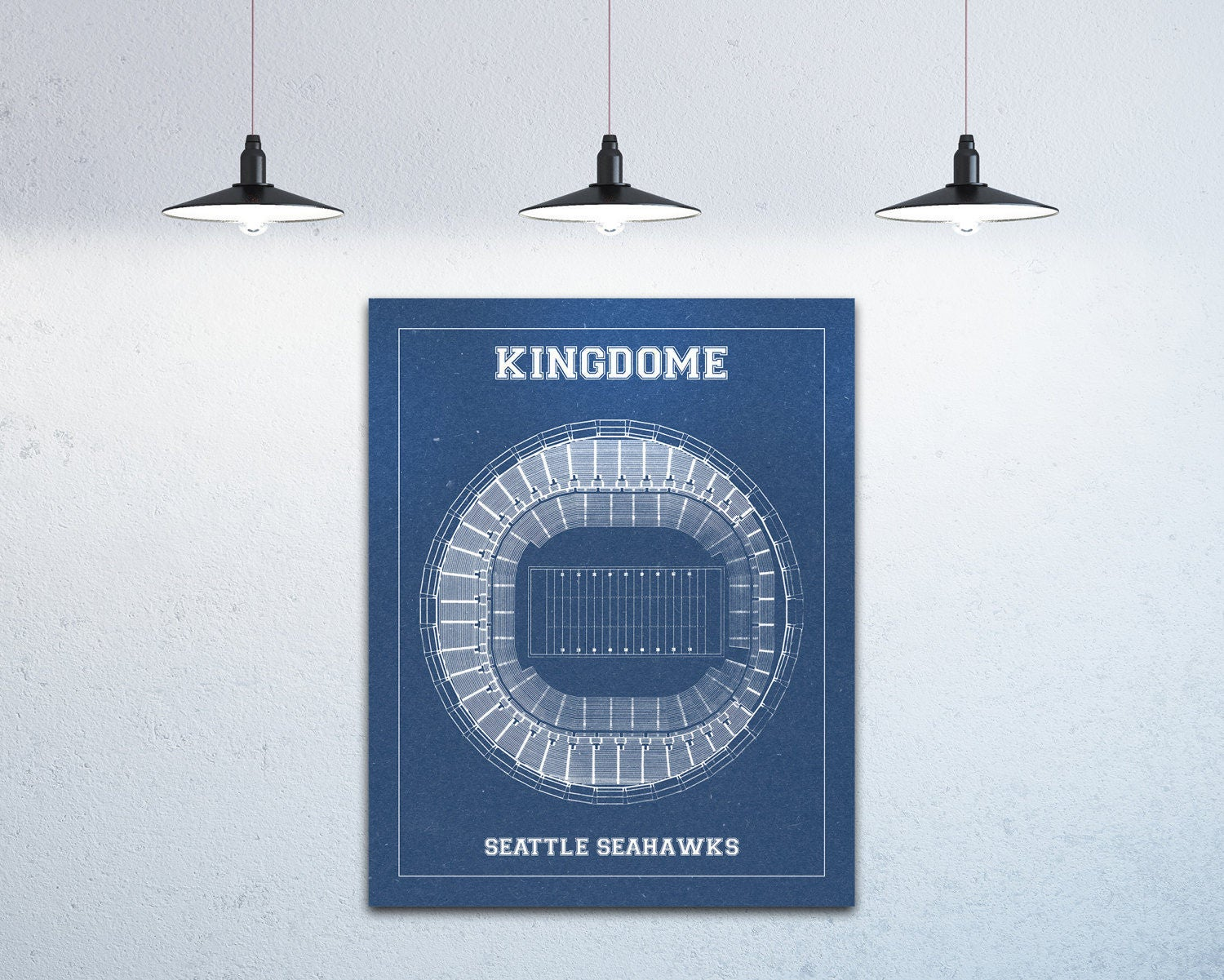 Print of vintage kingdome seating chart seating chart on for 12x15 calculator