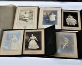 Antique Photos, Vintage Photos, Portraits, Victorian Photographs, Cincinnati Family Photos, 6 Outstanding Cabinet Cards