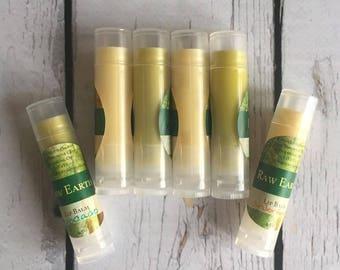 Avocado Lip Balm, Beeswax Lip Balm, Avocado & Beeswax Lip Balm, Avocado Oil, All Natural Lip Balm, Handmade Lip Balm, Chemical Free Lip Balm
