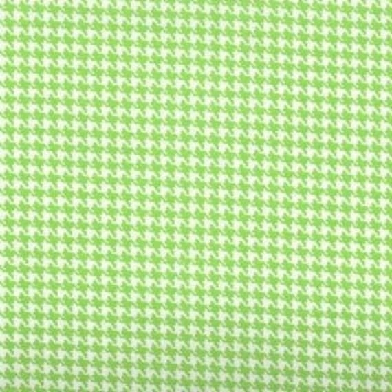 Houndstooth fabric,Lime Green and white houndstooth fabric,100% cotton,Quilt fabric,Apparel fabric,Craft,Sold by FAT QUARTER INCREMENTS