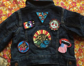 Psychedelic Patches /// Custom Embroidery ///