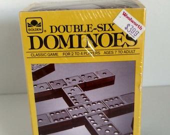 1989 Golden and Golden Design dominoes – unopened