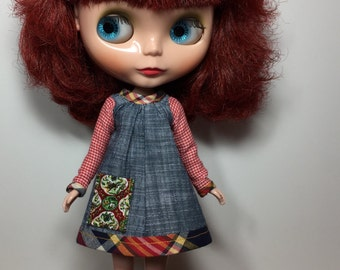 Rosiee Gelutie Dress with Long Sleeves and Pocket