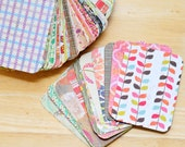 3x4 Journaling Cards // Assorted Patterns // Project LIfe Inspired // Scrapbooking // Pocket Pages // Planner Accessory