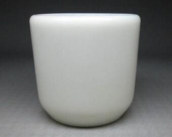 Corning watchman's mug with glassblower logo , made in USA
