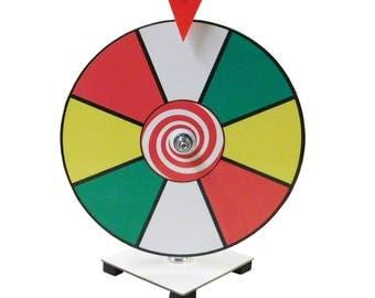 "12 "" Prize Wheel / Carnival Game / Trade Show Game / Spin it game 12 inch Dry Erase Prize Wheel  Kid Safe Pegless Design"