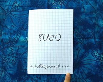 BUJO - A Bullet Journal Zine