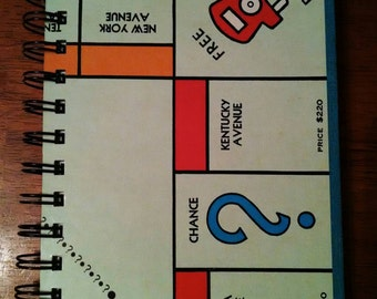 Monopoly Game Board Journal - Free Parking