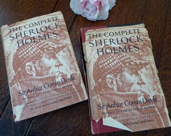 The Complete Sherlock Holmes 1930  Volume I & II w/Dust Jackets
