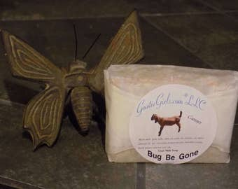 Bug-Be-Gone Goat Milk Soap