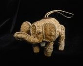 Handmade elephant ornament