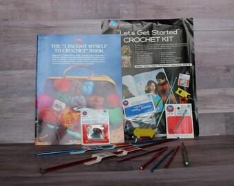 Boye Crochet Kit and Book