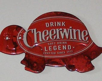 Turtle Magnet - Cheerwine Legend Soda Can