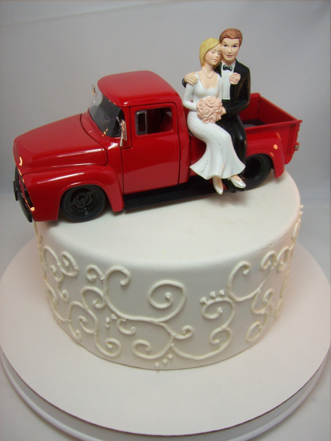 ford truck wedding cake topper 56 ford f100 truck vintage auto car wedding cake topper 14404