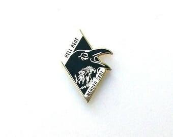 Hell Bent - Heaven Sent Raven Pin