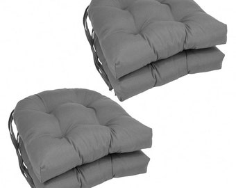 Cotton Canvas Chair Pad-Chair Cushion-Stool Cushion