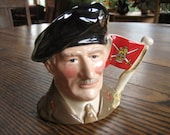 Royal Doulton Toby Mug Viscount Montgomery of Alamein Monty 1989 Limited Edition