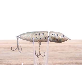 Vintage Wooden Fishing Lure / Wood lure / Fishing Lure / Fishing Decor / Old Fishing Lure / Unique Wood Lure