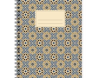 Notebook A5 - Moroccan Pattern #3