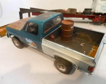 Scale Model Truck,Tow Truck,Toy Truck,Classicwrecks,GMC Truck,Snow Plow