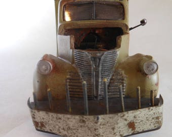 Scale Model Truck,Jeepers Creepers,Horror Movie, Rusted Wreck.Classicwrecks