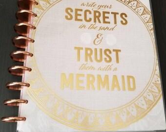Mermaid Happy Planner Cover - Big