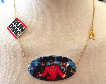 Gold Plated Handmade Run DMC Necklace