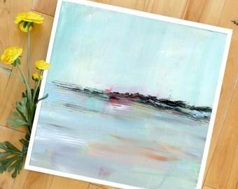 Abstract Landscape Art Print, Landscape Painting, Modern Art, contemporary art print, Expressionist, Minimalist