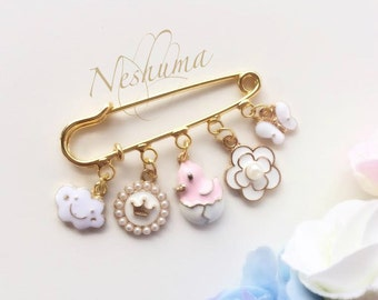 Baby Pin, Stroller Pin, Baby Girl Gift, Baby Blessing, Baby Jewelry, Newborn Gift, Baby Shower Gift