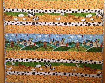 Out on the Farm Quilt