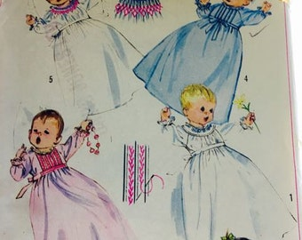 Baby's Christening Gowns / Sleeping Gowns pattern