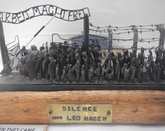 SILENCE a diorama about the holocaust