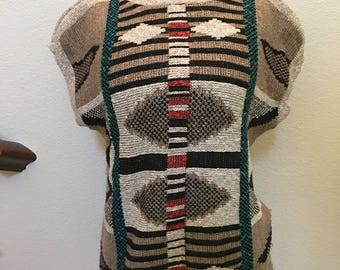 Vintage bohemian sweater top by Courtney Rhodes