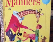 Vintage My Little Golden Book of Manners