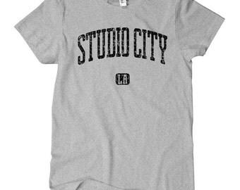 Women's Studio City Los Angeles T-shirt - S M L XL 2x - Ladies' Tee, Gift For Her, Girl, Studio City Shirt, LA Shirt, TV, Film, Movies, 818