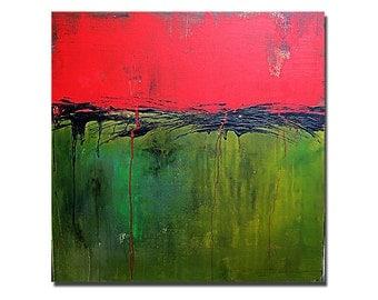 CONTESSA........original acrylic painting abstract art