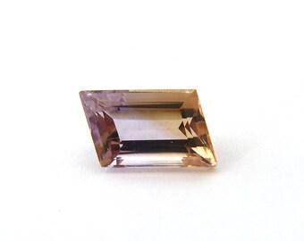 Ametrine Designer Gemstone 9.5x13.7x7.4 mm 7.4 carats Free Shipping