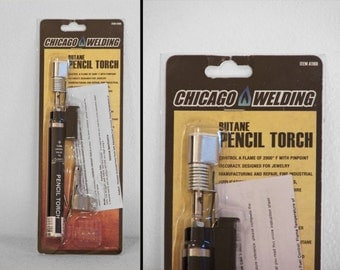 Butane Pencil Torch Clearance Chicago Welding New in Package Soldering Jewelry Cooking