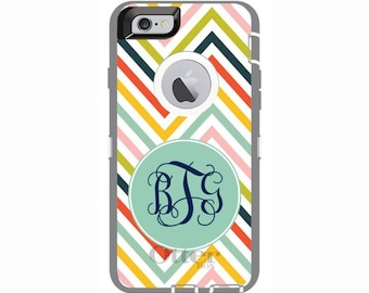 Custom iPhone 6 & iPhone 6s Clover Otterbox Defender Phone Case | Personalized Otterbox Phone Case