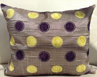 Spot Design Cushion - Zoffany Fabric