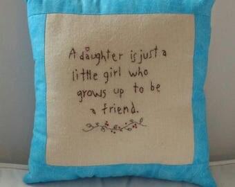 Daughter Pillow
