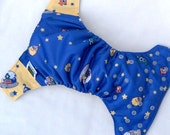 Toy Aliens Cloth Diaper