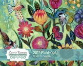 2017 Calendar PAINTINGS by Carrie Tasman