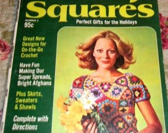 Vintage, Crochet Book, Crochet, Granny Squares, Woman's Day Book