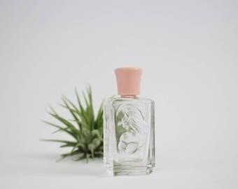 Vintage Miniature Empty Perfume Bottle - White Shoulders Parfum by Evyan .25 Fl Oz Miniature Bottle for Repurpse