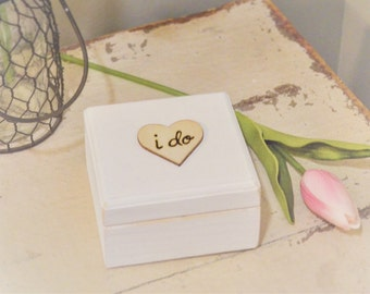 Wedding Ring Box, Mr and Mrs Box, His and Hers Ring Box, Engagement Ring Box