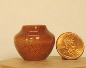 Ancient Kauri Turned Miniature Pot