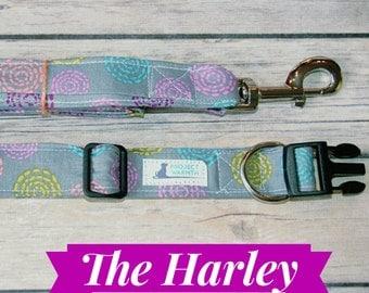 The Harley Collar, Leash and Collar Set