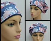 Bouffant Cap/Medical Cap/Surgical Scrub Cap - Wonderful Thinghs - 100 % Cotton