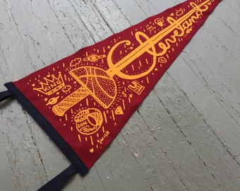 Cleveland, Ohio Felt Pennant (Champion Edition)